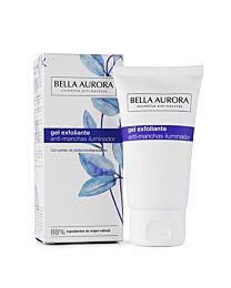 Bella aurora anti-manchas iluminador gel exfoliante, 75 ml