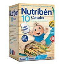 Nutribén 10 cereales, 600 gr