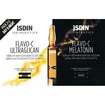 Isdinceutics flavo-c ultraglican+ flavo-c melatonin (2+2 ampollas)