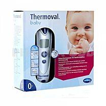 Thermoval baby, termÓmetro de infrarrojos de frente sin contacto