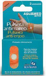 Aquamed active pulsera antimareo - (niÑo 2 u)
