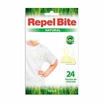 Repelbite natural - parches ropa con citronella (24 aplicaciones)