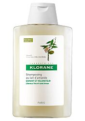 Klorane champu voluminador leche almendras - (400 ml)