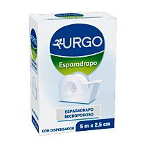 Esparadrapo hipoalergico - urgo microporoso (5 m x 2,5 cm)