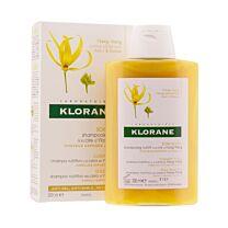 Klorane champÚ nutritivo a la cera de ylang-ylang, 200 ml