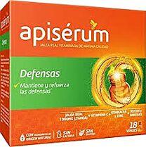 Apiserum defensas, 18 viales