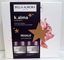 Bella aurora pack k_alma, crema iluminadora anti-edad dÍa ( 50 ml)+ crema reparadora anti-edad noche (50 ml)