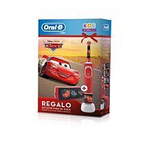Cepillo elÉctrico oral-b kids, cars (+ 3 aÑos) + regalo estuche para el cole