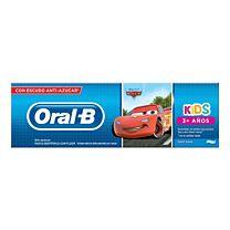 Oral-b kids, pasta dentÍfrica + 3 aÑos (75 ml)