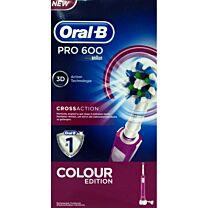 Cepillo dental electrico  oral-b  crossaction pro 600