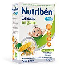 Nutriben cereales sin gluten con leche (300 gr)