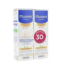 Mustela duplo crema nutritiva al cold cream, 40 ml + 40 ml