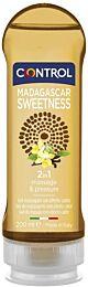 Control gel de masaje 2 en 1, madagascar sweetness, 200 ml