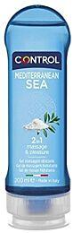 Control gel de masaje 2 en 1, mediterranean sea, 200 ml