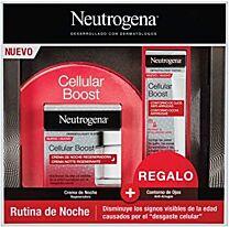 NeutrÓgena celllar boost, crema de noche (50 ml) + regalo contorno de ojos (15 ml)