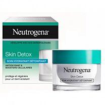Neutrogena skin detox, hidratante de doble acciÓn, piel normal y mixta, 50 ml