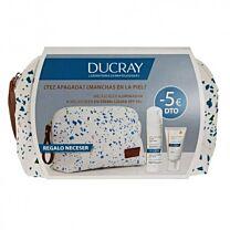 Ducray neceser crema ligera 50 spf (40ml) +  tratamiento despigmentante (30 ml)