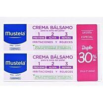 Mustela duplo crema bÁlsamo 1,2,3 (100 ml+100 ml)