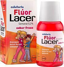 Lacer colutorio fluor semanal 0,2 % - (fresa 100 ml)