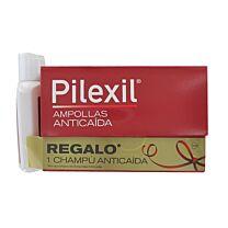 Pilexil forte anticaida ampollas - (5 ml 15 ampollas) + champu anticaida de regalo