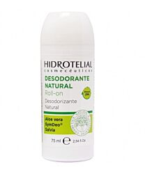 Hidrotelial  desodorante natural roll-on, 75 ml