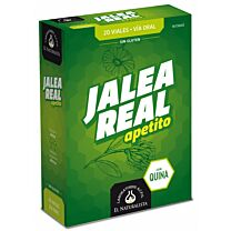 Jalea real apetito, 20 viales