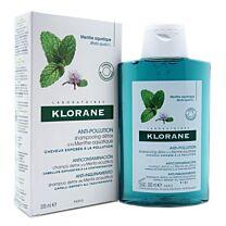 Klorane champÚ anticontaminaciÓn a la menta acuÁtica, 200 ml