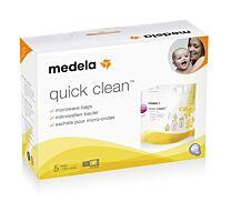 Medela bolsas para microondas reutilizables - quick clean (5 u)