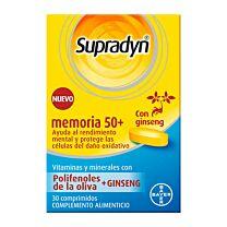 Supradyn memoria 50+, 30 complementos