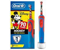 Oral-b cepillo elÉctrico mickey ediciÓn aniversario,  + 3 aÑos