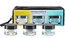 Galenic neceser mini mascarillas, detox (15 ml) + purificant (15 ml) + hidratnte (15 ml)