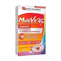 Forte pharma, multivit 4g energy, 30 comprimidos