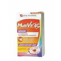 Forte pharma, multivit 4g sÉnior, 30 comprimidos