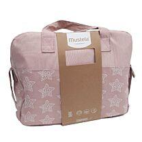 Mustela bolsa paseo rosa