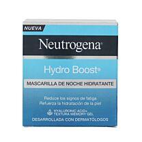 Neutrogena hydro boost, mascarilla de noche hidratante, 50 ml