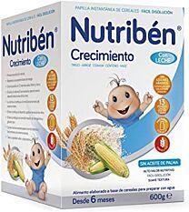 NutribÉn crecimiento con leche, 600 gr