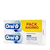 Oral-b original, encÍas y esmalte repair, pack ahorro, (2 x 100 ml)