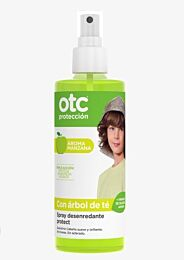 OTC antipiojos spray desenredante protect, 250 ml (aroma manzana)