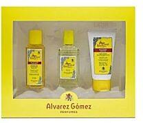 Álvarez gÓmez estuche, gel de baÑo (90 l) + agua de colonia (80 ml) + emulsiÓn hidratante (75 ml)