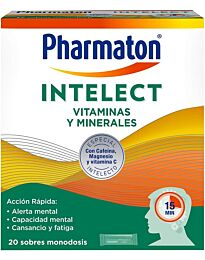 Pharmaton intelect, 20 sobres monodosis