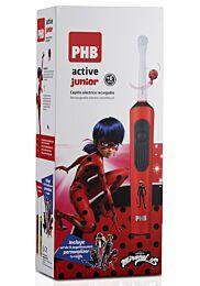 Phb cepillo elÉctrico junior ladybug, + 6 aÑos