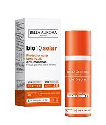 Bella aurora bio 10 solar spf 50+, piel mixtra-grasa, 50 ml