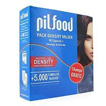 Pilfood density mujer (90 capsulas + champÚ)
