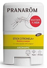 Pranarom aromapic stick citronela rostro y cuerpo, 20gr