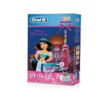 Cepillo elÉctrico oral-b kids, princesss (+ 3 aÑos) + regalo estuche para el cole
