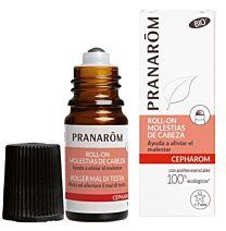 Pranarom roll- on molestias de cabeza, 5 ml