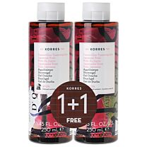 Korres set de ducha rosa japonesa 250 ml (1+1)