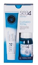 Sea4 pasta dentÍfrica, 75 ml + gratis colutorio viaje