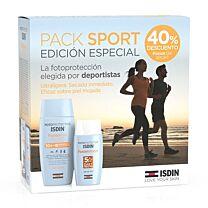 Isdin sport pack, fusion gel spf 50+  (100 ml) + fusiÓn water spf 50+ (50 ml)