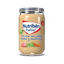 Nutribén potitos, ternera con judías verdes y zanahorias, 235 g